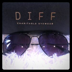 DIFF - Cruz Aviator Sunglasses